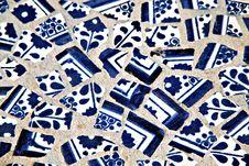 Free Blue Ornament Stock Photo - 8186090