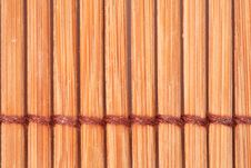 Free Bamboo Straw Mat Royalty Free Stock Images - 8186269
