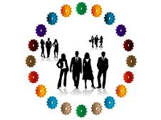 Free Business People Royalty Free Stock Photos - 8186558