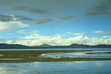 Free Lake Cuo Na In Tibet Royalty Free Stock Image - 8187816