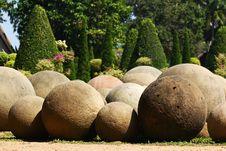 Free Stone Garden Royalty Free Stock Photo - 8188895