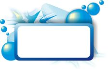 Free Abstract Blue Frame Stock Photography - 8188932