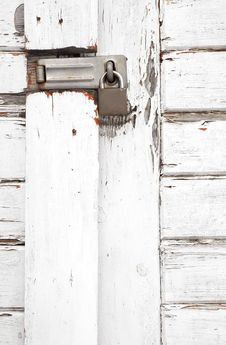 Free Padlocked Gate Stock Images - 8189054