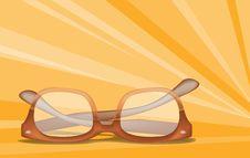 Free Glasses Royalty Free Stock Photo - 8189215