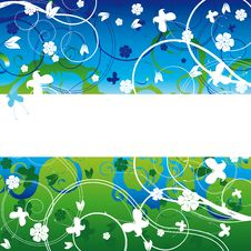 Free Background With Flower Stock Photography - 8189902