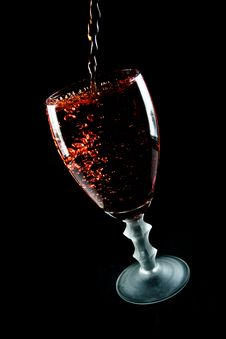 Free Glass Of Wine Royalty Free Stock Photo - 8189935