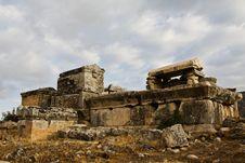 Free Ruins, Vault In Turkey Stock Photos - 8190093