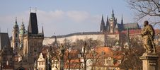 Free Prague Winter Panorama Stock Image - 8190561