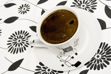 Free Cup Of Coffe Stock Photos - 8190843