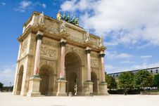 Free Arc De Triomphe Du Carrousel Royalty Free Stock Photo - 8190855