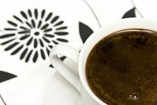 Free Cup Of Coffe Royalty Free Stock Image - 8190856