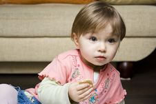 Free Baby Eating Stock Photography - 8190992