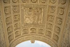 Free Arc De Triomphe Du Carrousel. Details Stock Image - 8191001
