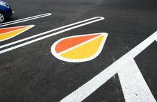 Free Elderly S Parking Spaces Stock Photography - 8191292