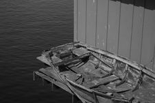 Free Old Rowing Boat Stock Images - 8191314