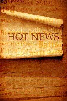 Free News Stock Image - 8191341