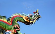 Free East Temple Dragon Royalty Free Stock Photography - 8191497