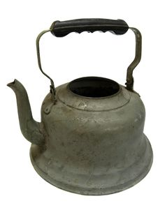 Free Old Iron Kettle Royalty Free Stock Images - 8191609