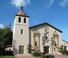 Free Mission Santa Clara Royalty Free Stock Photo - 8191775