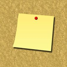 Free Blank Note Royalty Free Stock Image - 8191796