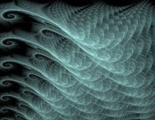 Wavy Abstract Background Royalty Free Stock Photos