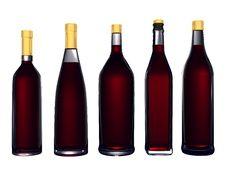 Free Wine Bottles Stock Photo - 8192690
