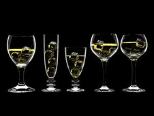 Free Wine In Glass Royalty Free Stock Photos - 8192798
