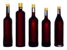Free Wine Bottles Stock Photos - 8192923