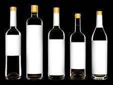 Free Wine Bottles Stock Photo - 8193070