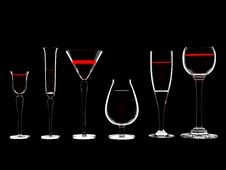 Free Wine In Glass Stock Images - 8193094