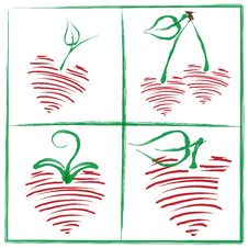 Free Hearts Royalty Free Stock Photos - 8193128
