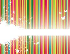 Background With Stripes Royalty Free Stock Image