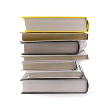 Free Stack Of Books Royalty Free Stock Photos - 8193238