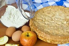 Free Food Ingredients For Baking Royalty Free Stock Photography - 8193377