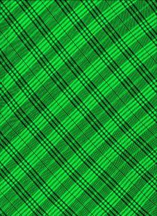 Scottish Green Textile. Royalty Free Stock Photos