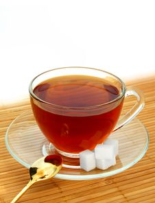 Free Glass Cup Of Tea Stock Photo - 8193620