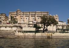 Free Udaipur City Palace Royalty Free Stock Photo - 8193685