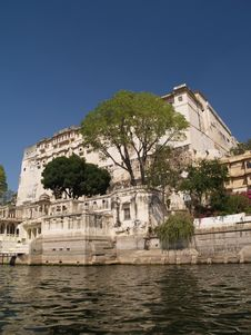 Free Udaipur City Palace Royalty Free Stock Photography - 8193747