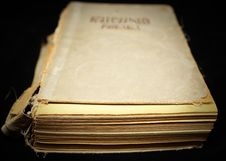 Free Old Book Stock Photos - 8194333