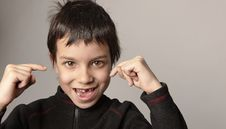 Free Look At This Teeth Royalty Free Stock Photography - 8194397