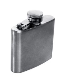 Free Flask Of Brandy Stock Photography - 8194502