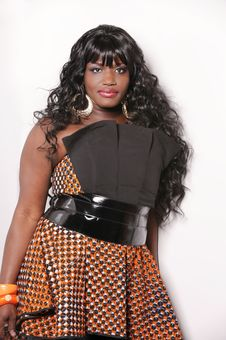 African Female Singer Stock Images