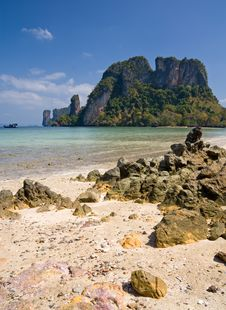 Free Uninhabited Island Of Andaman Sea Stock Photos - 8195283