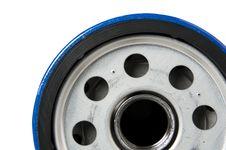 Free Automotive Oil Filter Royalty Free Stock Photos - 8195298