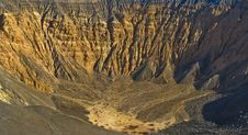 Free Ubehebe Crater Royalty Free Stock Image - 8195746