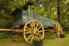 Free Old Horse-drawn Carriage Royalty Free Stock Photo - 8195875