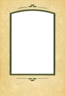 Free Antique Cardboard Frame Royalty Free Stock Image - 8196176