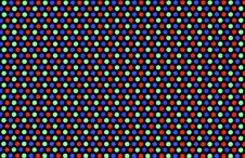 Free CRT Pixels, Extreme Close-up. Royalty Free Stock Photo - 8196485