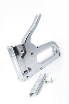 Free Metallic Industrial Stapler Stock Image - 8197031