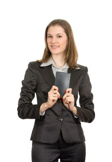 Free Smiling Businesswoman Stock Image - 8197541